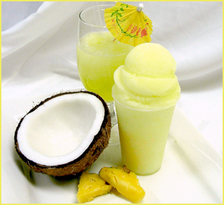 Pina Colada Water Ice